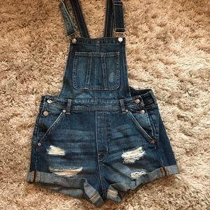 H&M denim overalls, never worn!